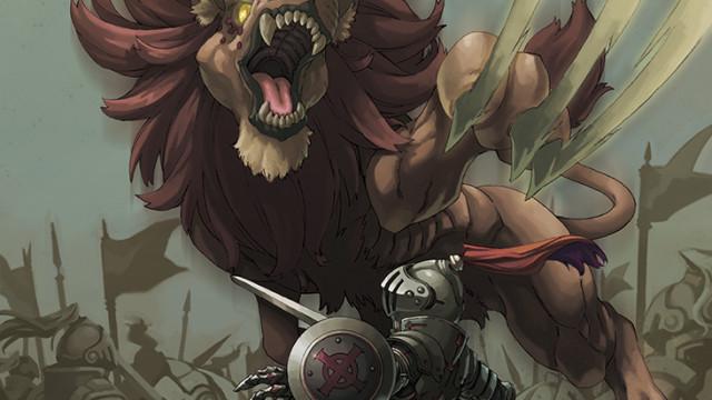飛びかかる獅子【Force of Will】